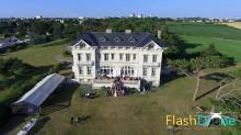 Evenement familiaux filme par drone dans la Manche
