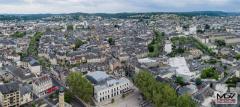 Photographie aérienne d une ville par mgv