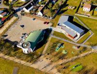 Image aérienne de pilote de drone a Compiègne dans l'Oise
