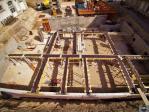 Image aérienne de suivi de chantier par drone