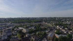 Image aérienne par drone Evreux