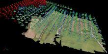 Imagerie technique par drone dans la Nièvre