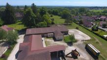 Images aériennes par drone territoire de Belfort en Franche-Comte