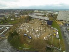 Inspection aerienne drone pour suivi de chantier
