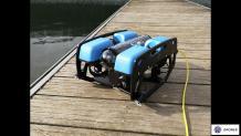 Inspection sous marine robot rov télécommandé
