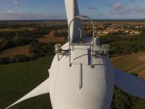Inspection technique par drone sur Angers Maine et Loire