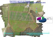Interprétation cartographique des résultats NDVI agricole par drone