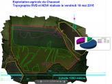 Interprétation cartographique des résultats ndvi exploitation agricole par drone