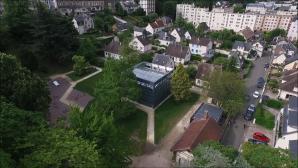 La serre d'Evreux en photo aérienne par drone