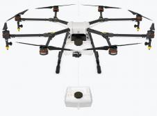 Le drone dji agras mg 1 est un octocopter agricole