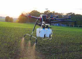 Le drone pour traiter les cultures