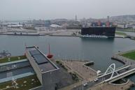 Le Havre photo aérienne du port du Havre par drone