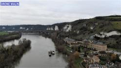 Les Andelys Eure Normandie photographie aérienne par drone 20210111 185947 2