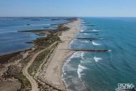 Les salins du midi aigues mortes en camargue provence alpes cote d azur