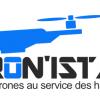 Logo pilote de drone a brest en bretagne