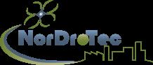 Logo pilote de drone inspection aérienne en Normandie