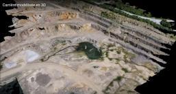 Lyon orthophotographie photos aeriennes par drone modelisees en 3d