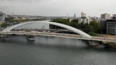 Lyon photographie par un drone