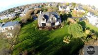 Maison photographiee par un drone