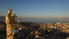 Marseille vue du ciel