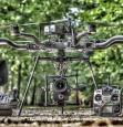 Materiel de notre pilote de drone en ardeche