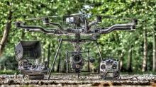 Matériel de notre pilote de drone en Ardèche