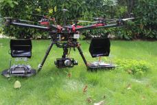 Drone professionnel pour prise de vue aérienne sur Rouen en Normandie
