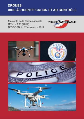 Mémento de la police nationale pour le contrôle des drones