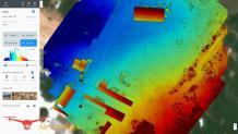 Modèle numérique de surface par pilote drone a Aix en Provence