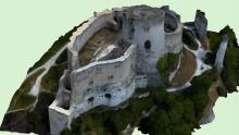 Modélisation 3D château dans l'Eure 27