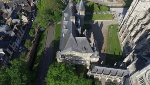 Musée Evreux vue du ciel par un drone