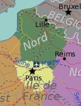 Nord de la France entreprises de pilotes professionnels de drone