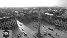 Paris en vue aérienne prise par un drone