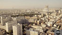 Paris photographie aérienne prise d un drone