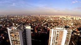 Paris vue du ciel par un drone