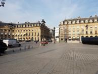 Périmètre de sécurité pour prise de vue aérienne à Paris