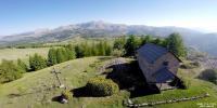 Photo aerienne alpes maritimes en region provence alpes cote