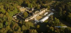 Photo aérienne château de la Loire
