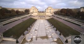 Photo de la place du Trocadero par photographe professionnel à Paris