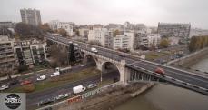 Photo aérienne de Levallois Perret prise par un drone