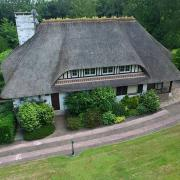 Photo aerienne de maison realisee par un drone