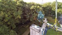 Photo aérienne de suivi de chantier par drone a Versailles
