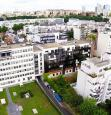 Photo aérienne de Paris prise par drone