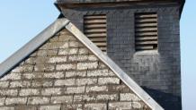 Photo aérienne de zinguerie sur toiture