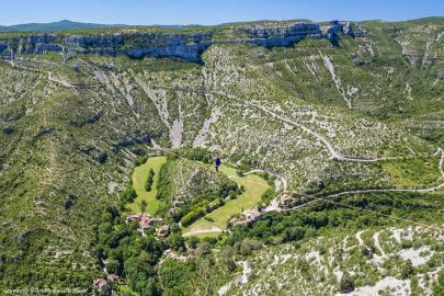 Photo aérienne en Occitanie