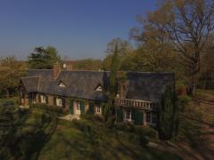 Photo aérienne par drone de maison a vendre