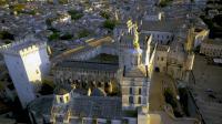 Photo aerienne palais des papes avignon