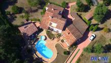 Photo aérienne par drone a Fréjus dans le Var Provence-Alpes-Côte D'Azur