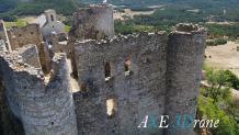 Photo aérienne par drone château dans le Var, Provence-Alpes-Côte d'Azur