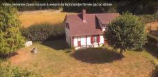 Photo aérienne par drone maison a vendre